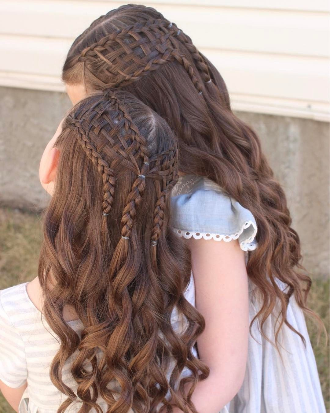 Woven ladder braids so cute pinterest ladder braid lil girl