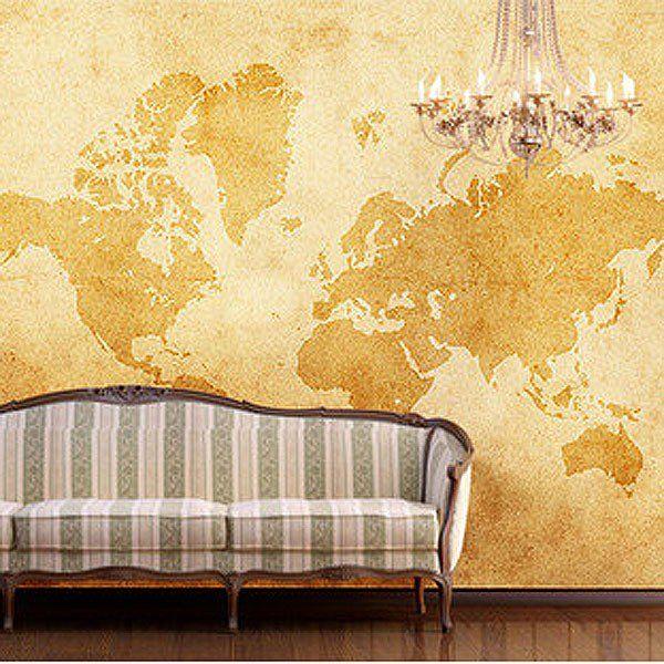 Navigator Kids World Map Wall Mural Milexa | Art Wallpapers ...