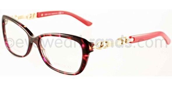 5dd42e777d6 Jimmy Choo JC 79 Jimmy Choo JC79 85O Pink Havana Jimmy Choo Glasses ...