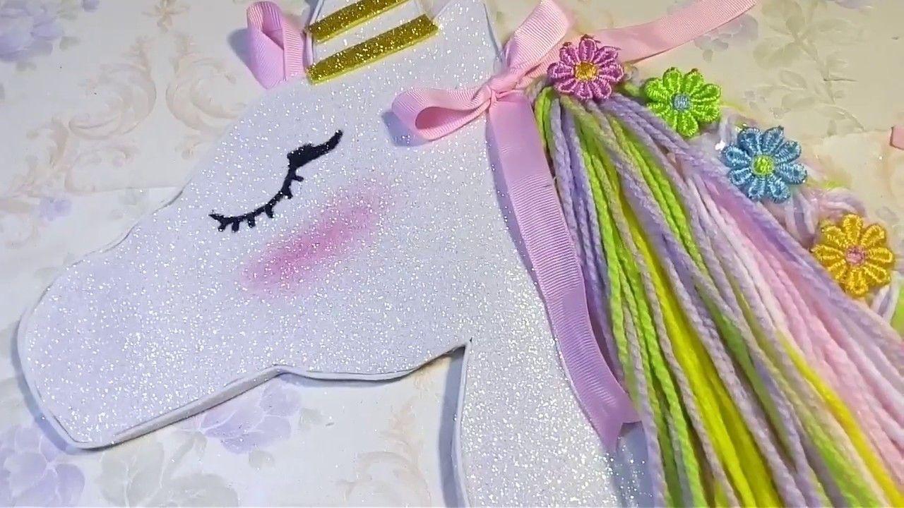 Portamo 209 Os De Unicornio 💓💖💟 Hairbows Holder Diy Hair Bow