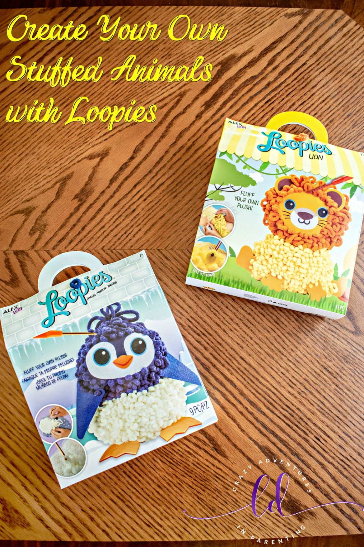Create Your Own Stuffed Animals With Loopies