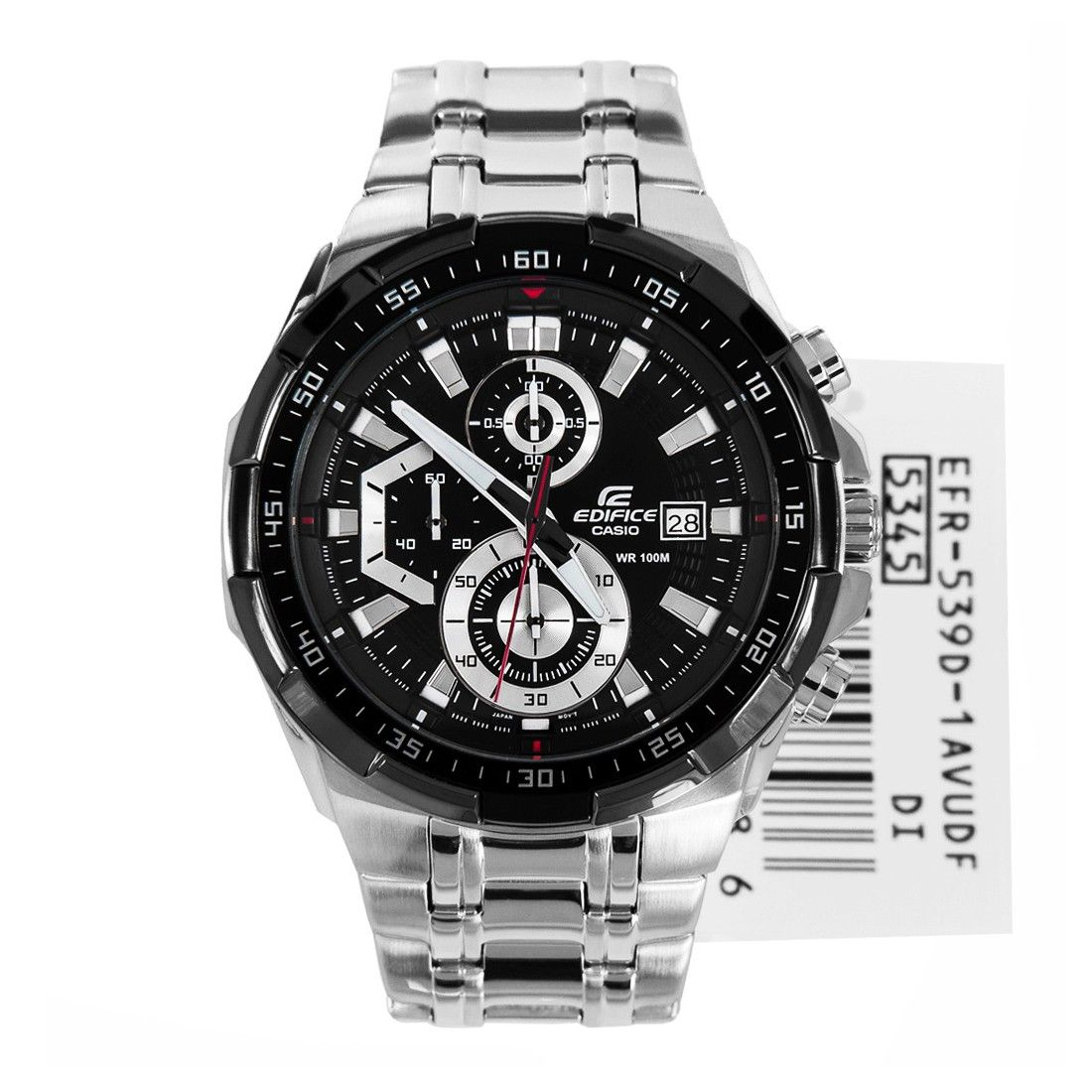 Casio Edifice Sports Watch Efr 539d 1av Efr539d Stuff To Buy Ef 543d Silver Sport Watches