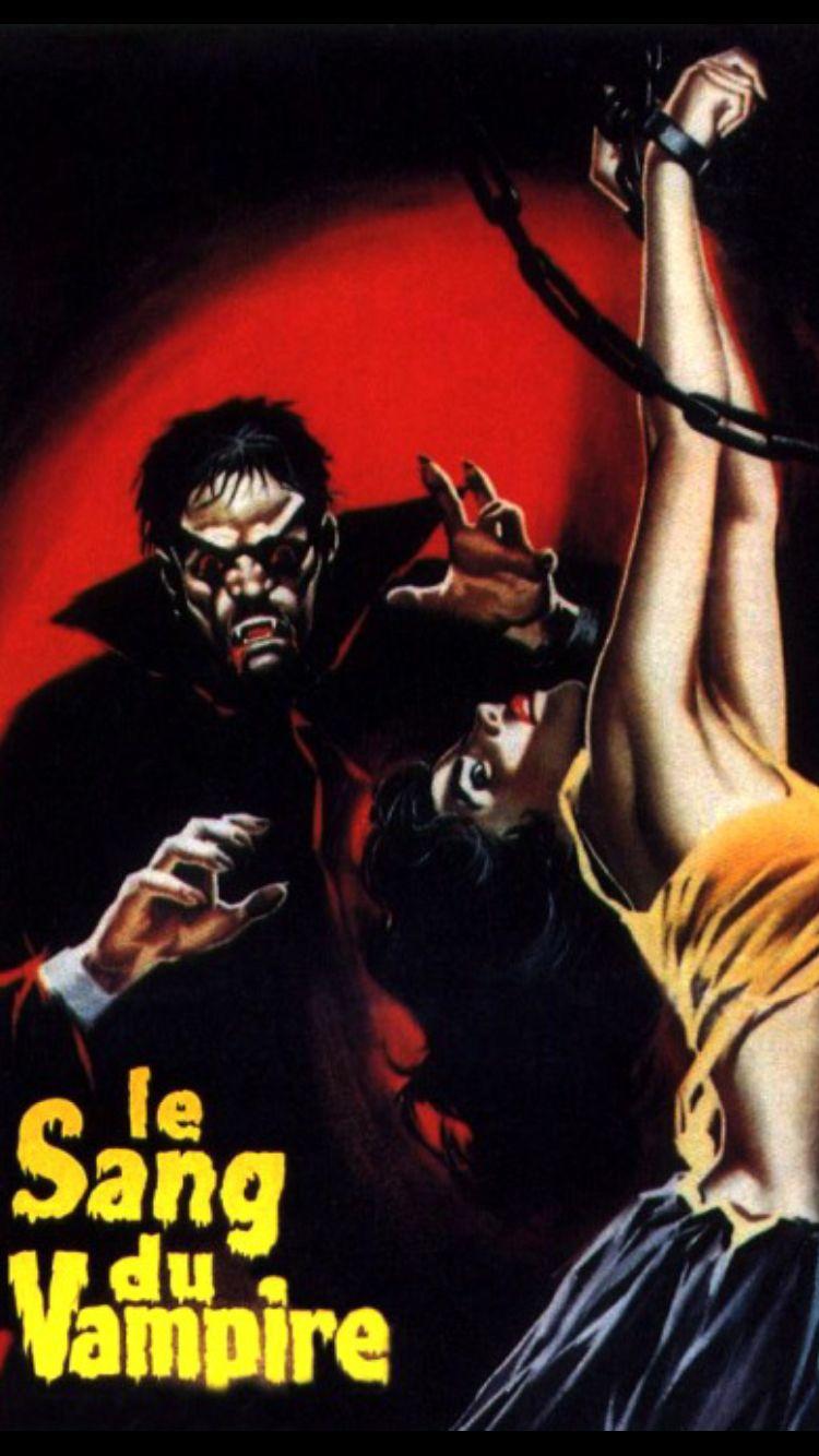 Le Sang Du Vampire 1958 Vampire Rock And Roll Art Music