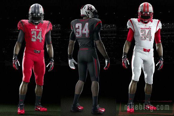 New Rutgers Football Uniforms Football Uniforms Rutgers Football Ncaa Football Teams
