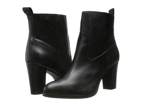 Cole Haan Livingston Bootie Black Leather Women fashionable design