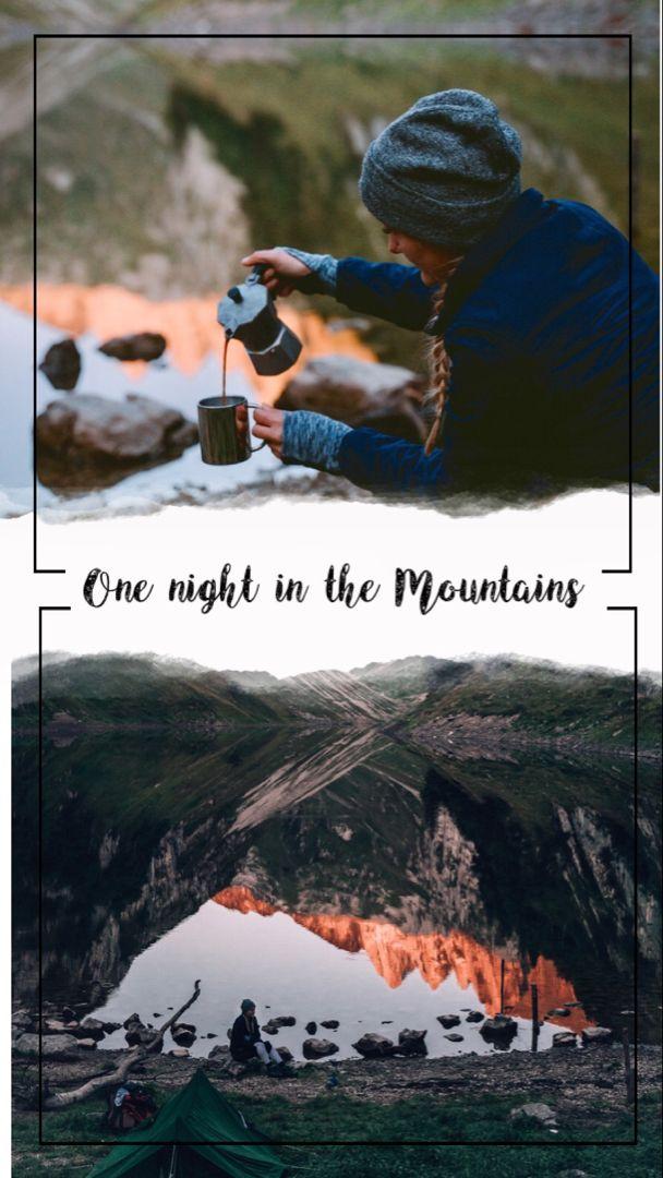 Eine Nacht in den Bergen (mit Bildern) Weltreise planen