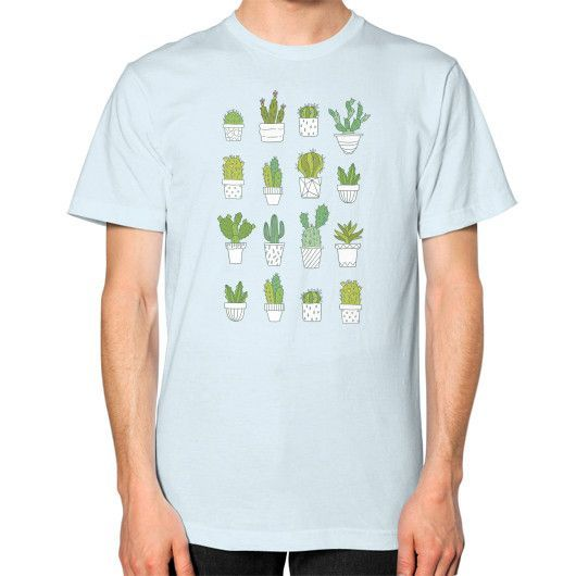 Cactus Unisex T-Shirt (on man)