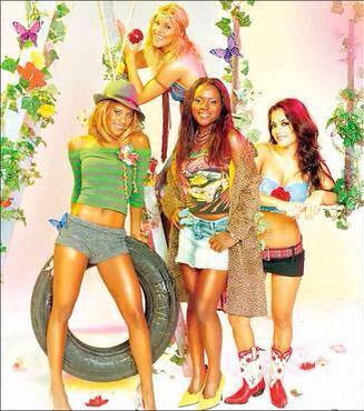 Rouge Girlband Brasileira Com Imagens Baixar Musica Sandy E