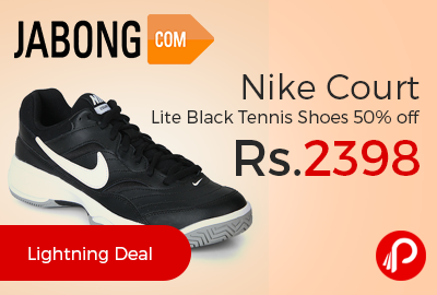 Jabong is offering 40% off on Nike Emerge 3 Black Running Shoes at Rs.2217.  A perfect fusion of style and enhanced comfort, these black coloured 'E… ...