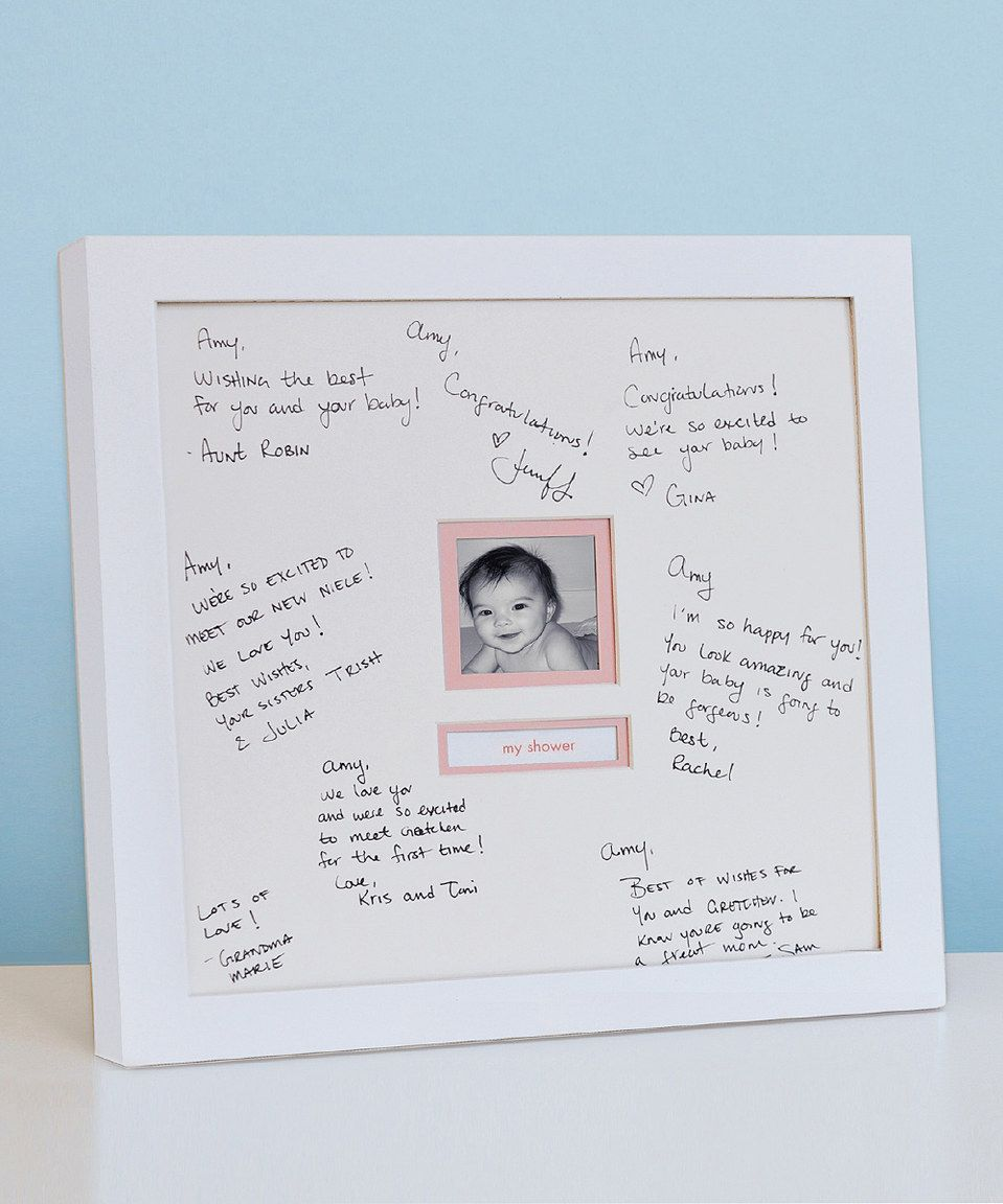 Look at this #zulilyfind! Pearhead White Signature Frame by Pearhead ...