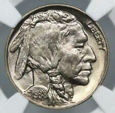 1938-D 5C Buffalo Nickel NGC MS 66