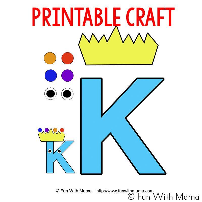 Letter K Activities for Preschool Printable Pack Fun