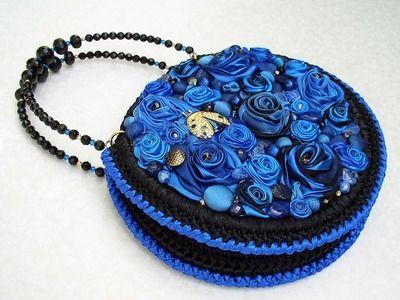 Вязаные крючком сумочки от Мурочки. Crochet handbags.