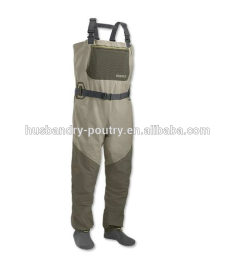 NEW SIZE LARGE REDINGTON CROSSWATER STOCKINGFOOT FLY FISHING CHEST WADERS