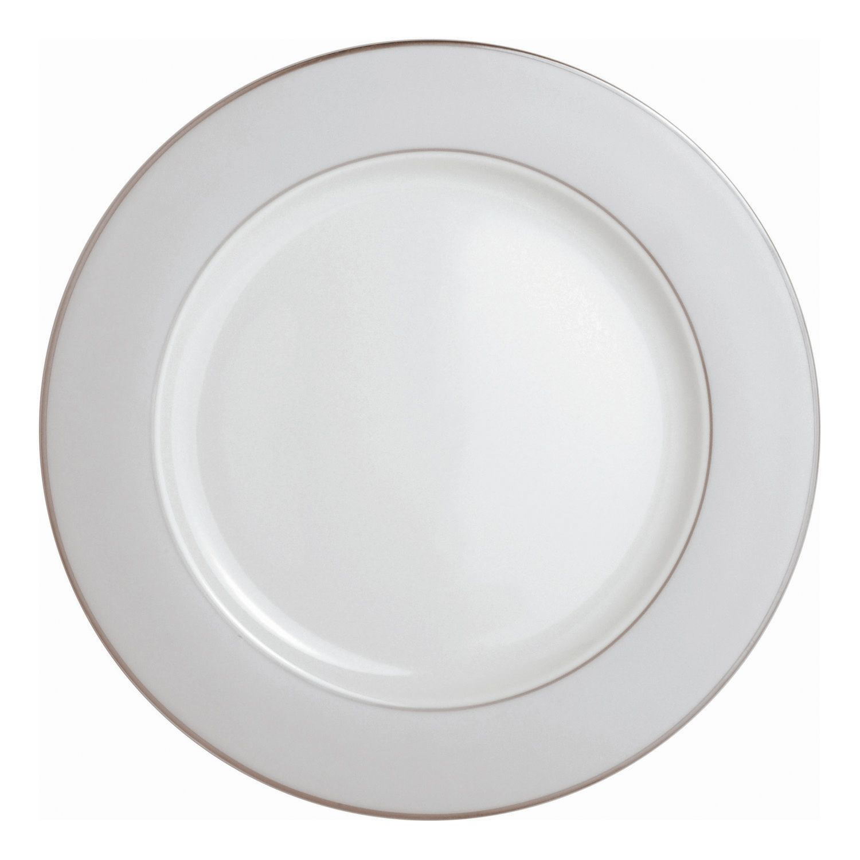 China  sc 1 st  Pinterest & Dinnerware Bernardaud Limoges- Opaline/Pearl Platinum Service Plate ...