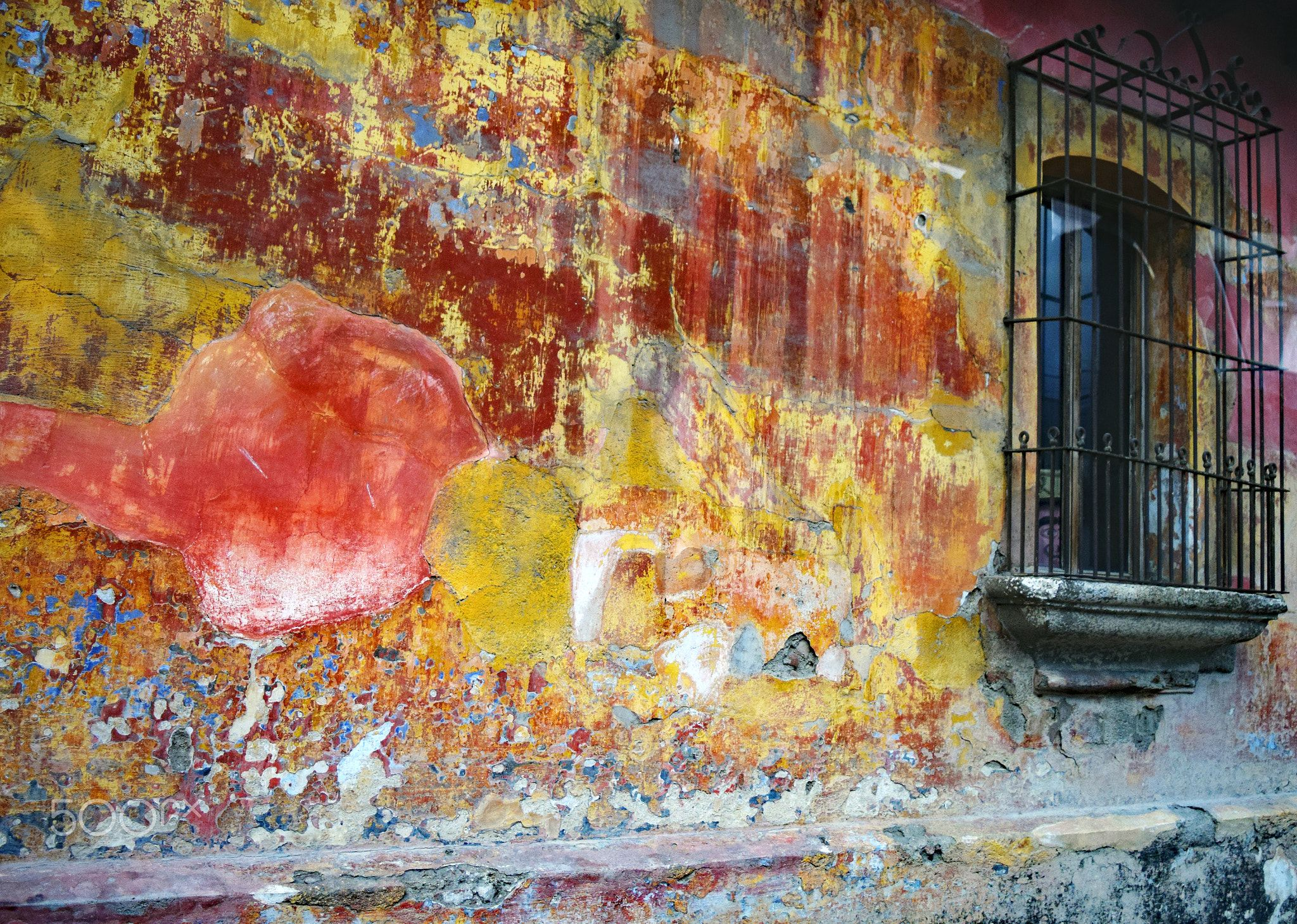 Antigua Wall Just A Something I Came Across Wall Wandering The Streets Of Antigua It S The