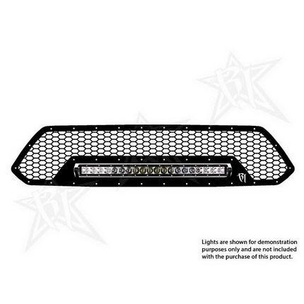 Rigid Industries LED Grille Black Toyota Tacoma 2012-2013