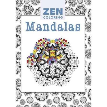 Zen Coloring Book Zen Coloring Mandalas Paperback Walmart Com Zen Colors Coloring Books Mandala Coloring Pages