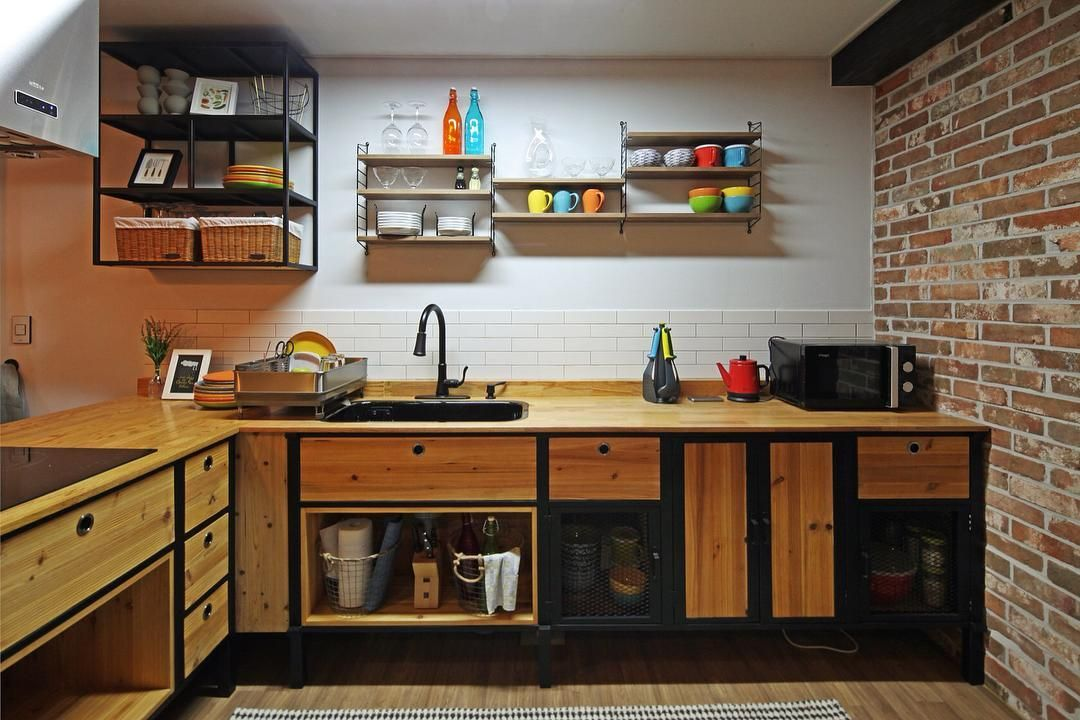 1 094 likes 1 comments homify on instagram every element of this korean kitchen is eye on kitchen decor korea id=28610