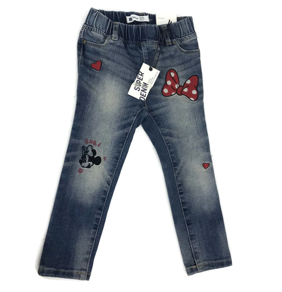f8ff83d114bfb Baby Gap Toddler Girl 1969 Disney Minnie Mouse Skinny Legging Denim Jeans  3T #Gap #Jeans
