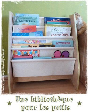 Une vraie bibliothèque pour enfant (Test   Bibliotheque pour ...
