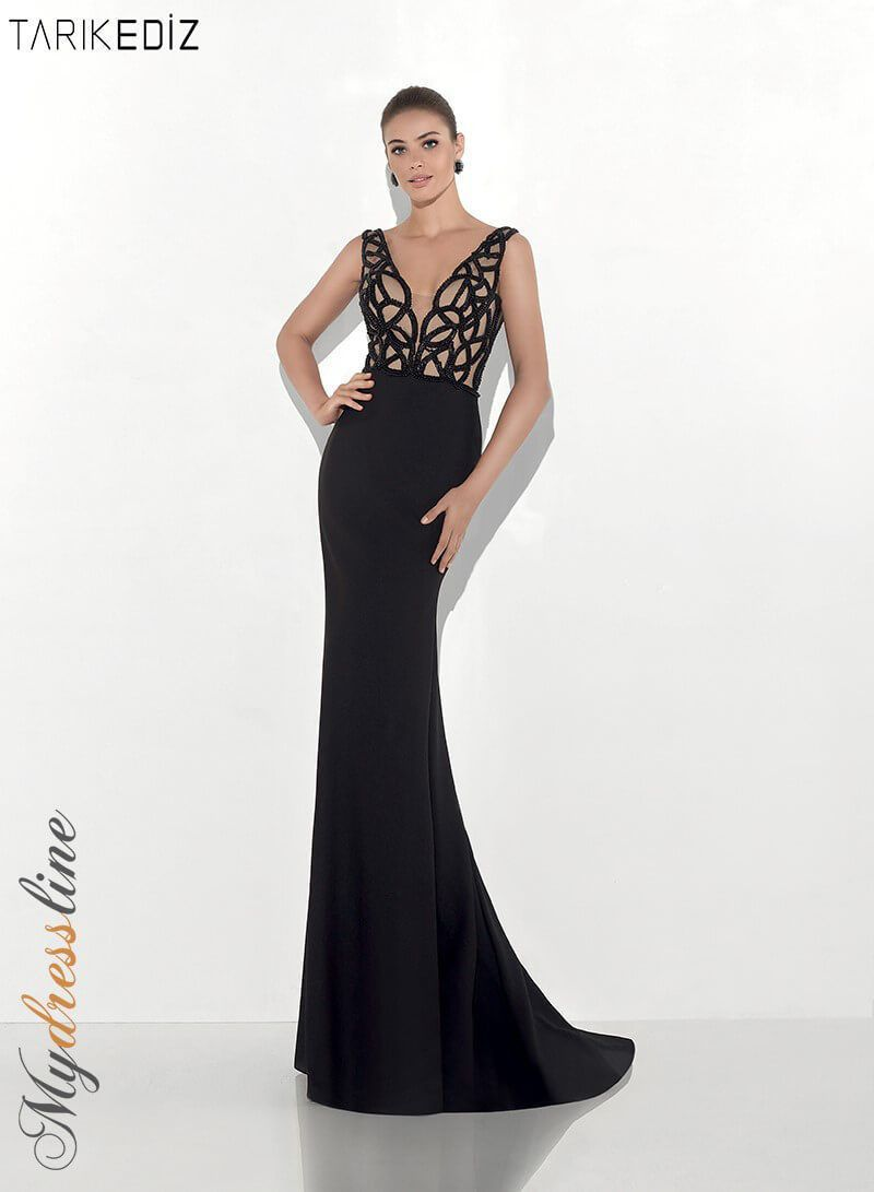 Tarik ediz evening dress lowest price guaranteed authentic