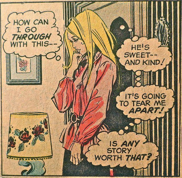 1960S Vintage Comic Book Campy Romance Teen Comics J -7083
