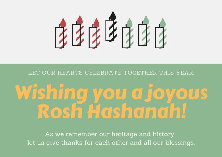 Candle Lighting Rosh Hashanah 2020 Rosh Hashanah