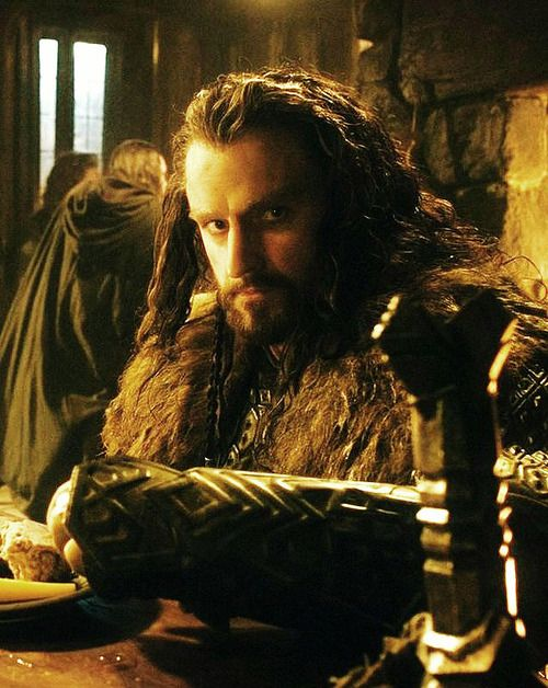 Thorin in DOS  Gee, he is looking straight into my soul!!!!