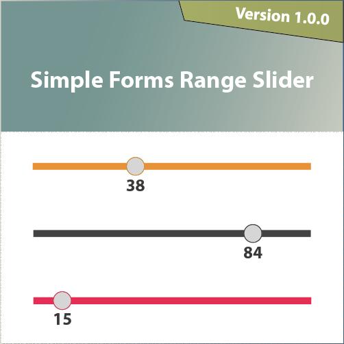 Simple Forms Range Slider | netcshop com | Jquery ui, Simple, Sliders