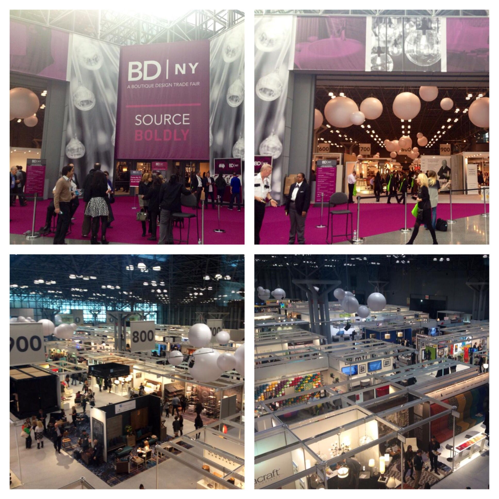 The Boutique Design Trade Fair #BDNY is looking gorgeous at the Javits Center in NYC today!