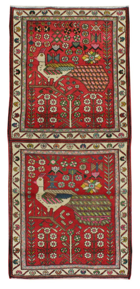 Old persian rug Tafresh 184x82 Tappeti