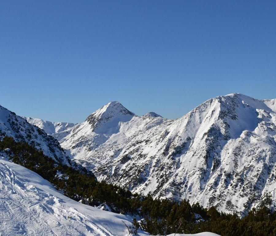Sweden Mountains Winter
