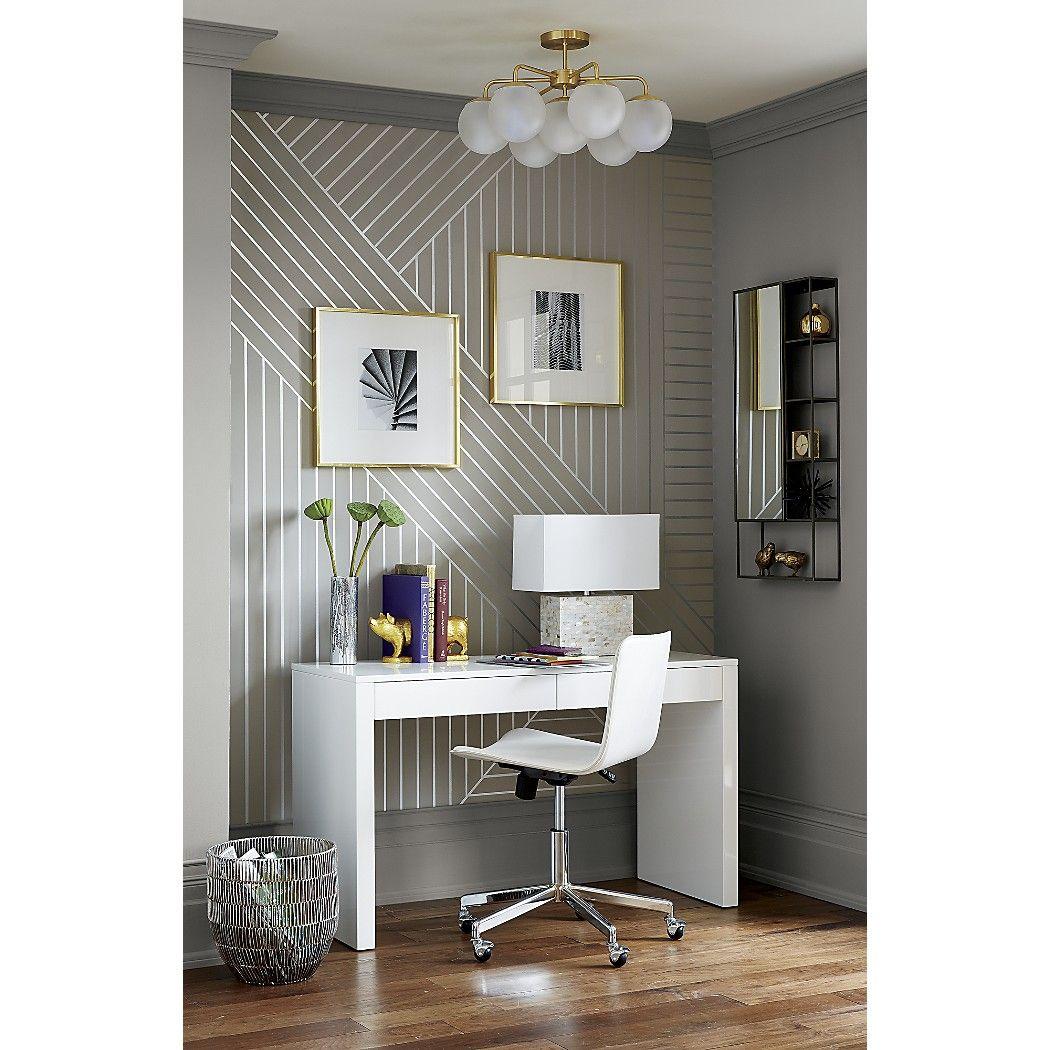 Cb2 vega flush mount light fixture | Apartment Therapy | Pinterest