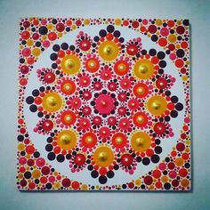 Pin by Bri Snider on Dot Art | Dot painting, Mandala