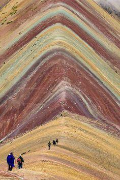 To walk through the ages.  Ausangate Trek, Peru — with George Villa.
