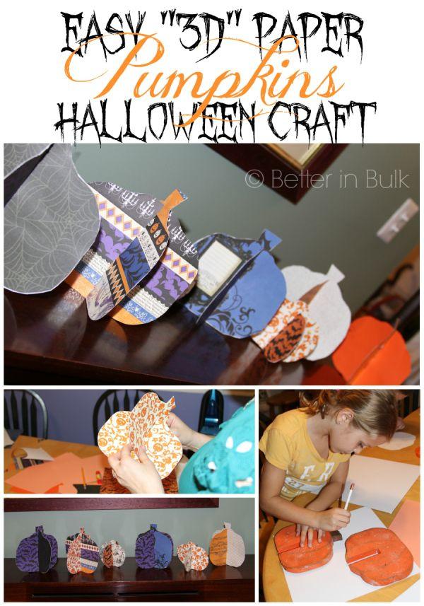 Halloween Craft Idea - Cheap and Easy \ - halloween crafts ideas