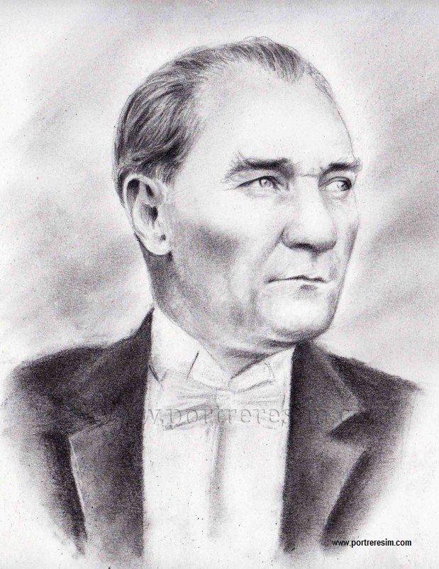 Karakalem Ataturk Resimleri Panosundaki Pin