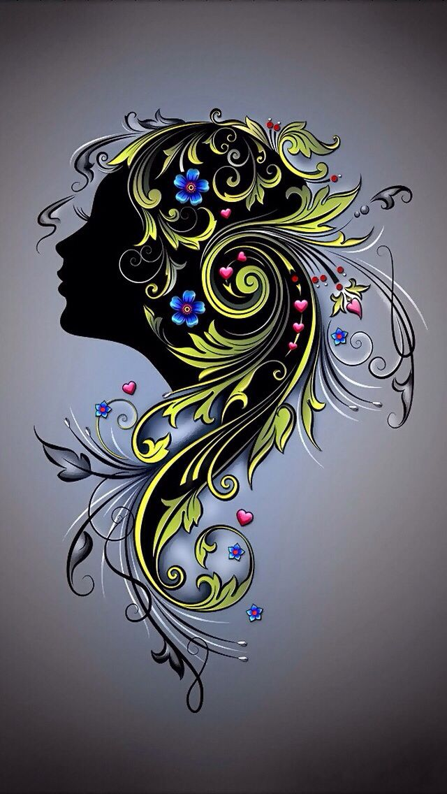 Cool Hair Stylist Symbol Artistic Touch Pinterest