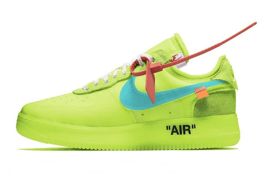 Off White Nike Air Force 1 Low Volt AO4606 700 Release Date
