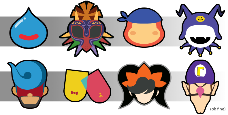 Fanart SSBU Stock Icons for wanted fighters (2