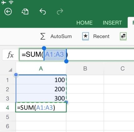 Basic Tips for Working in Excel for iPad Microsoft Office Tips - business plan excel spreadsheet