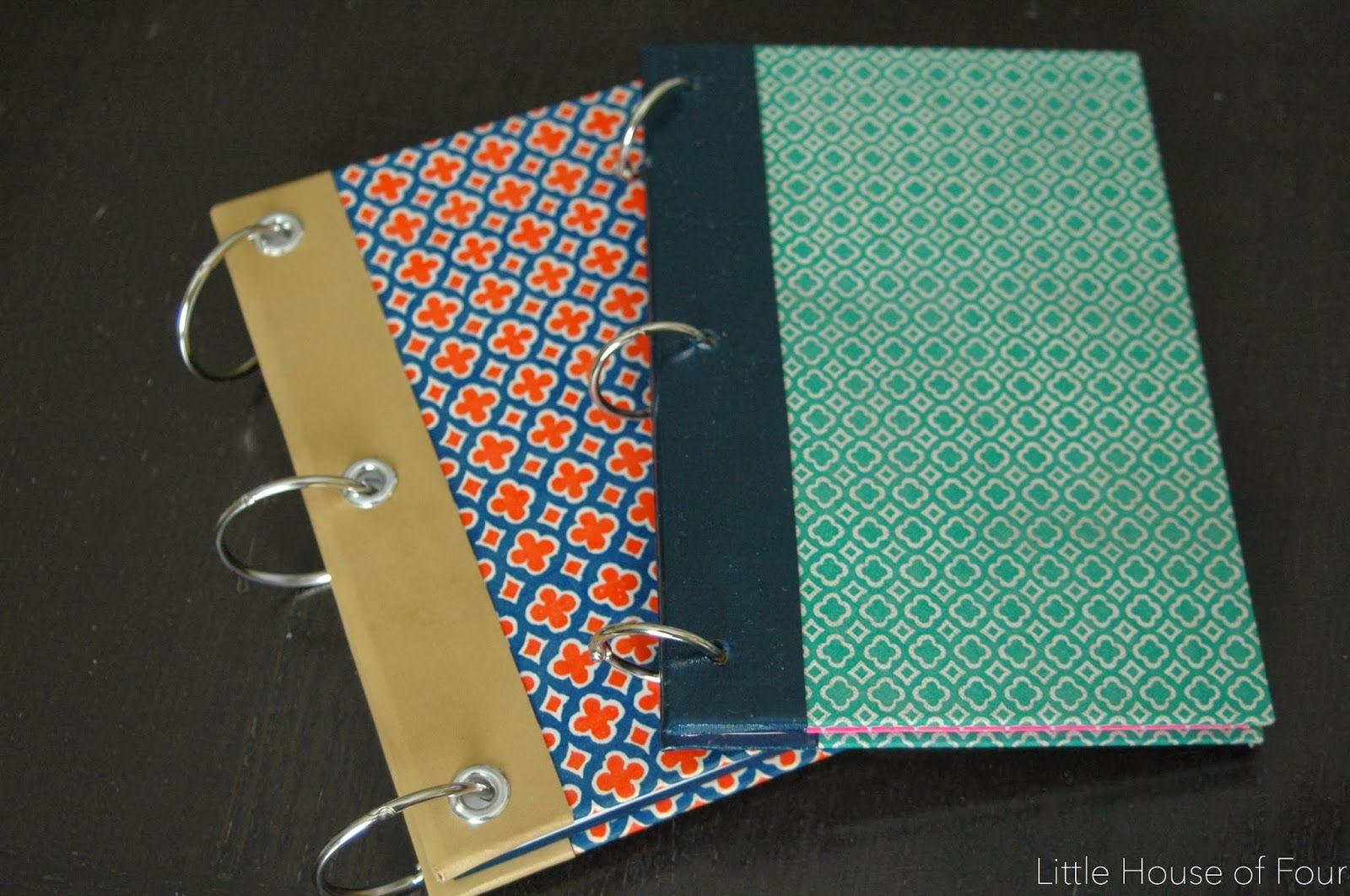 How To Make A Reader S Digest Notebook Old Book Crafts Diy Planner Notebook Readers Digest