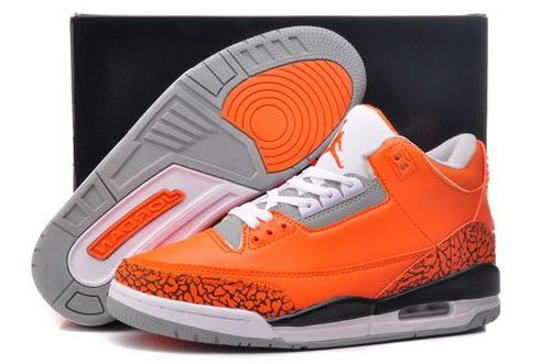 best service 1c082 ac1a2 Nike Air Jordan Iii 3 Retro Mens Shoes New Releases Orange White Special New  Promo Code