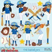 Baseball Girls Team Clipart 228 From Bestteachertools On Teachersnotebook Com 14 Pages Baseball Team Clipart Baseball Girls Baseball Team Baseball Boys