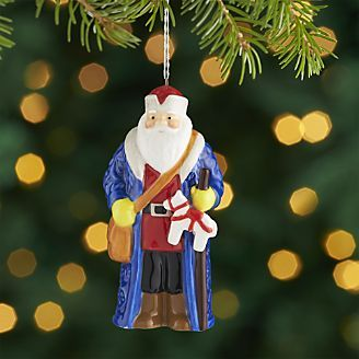 Around The World Sweden Santa Ornament Christmas Tree Ornaments Santa Ornaments Ornaments