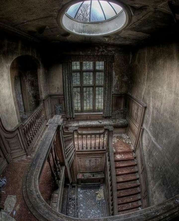 Abandoned Mansion, London, England