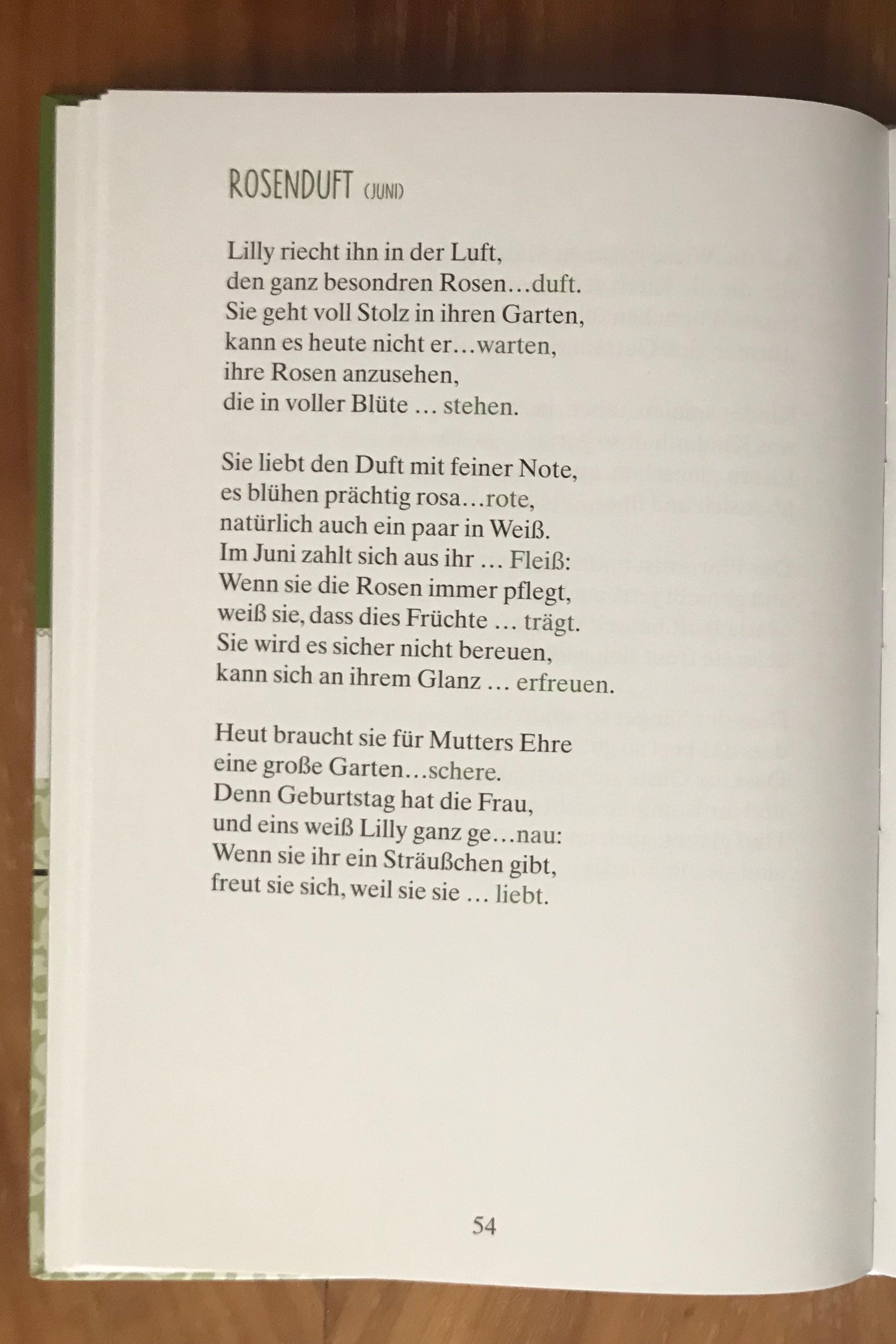 Blick ins Buch von Lücken-Geschichten in Reimen - Maibowle und Winterfest (www.singliesel.de) #einfachebastelarbeitenfürkinder