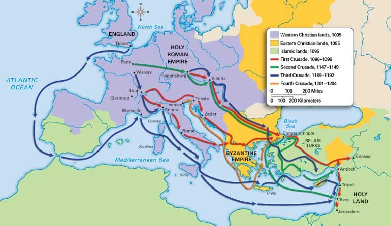 l middle ages crusades map geschiedenis pinterest map