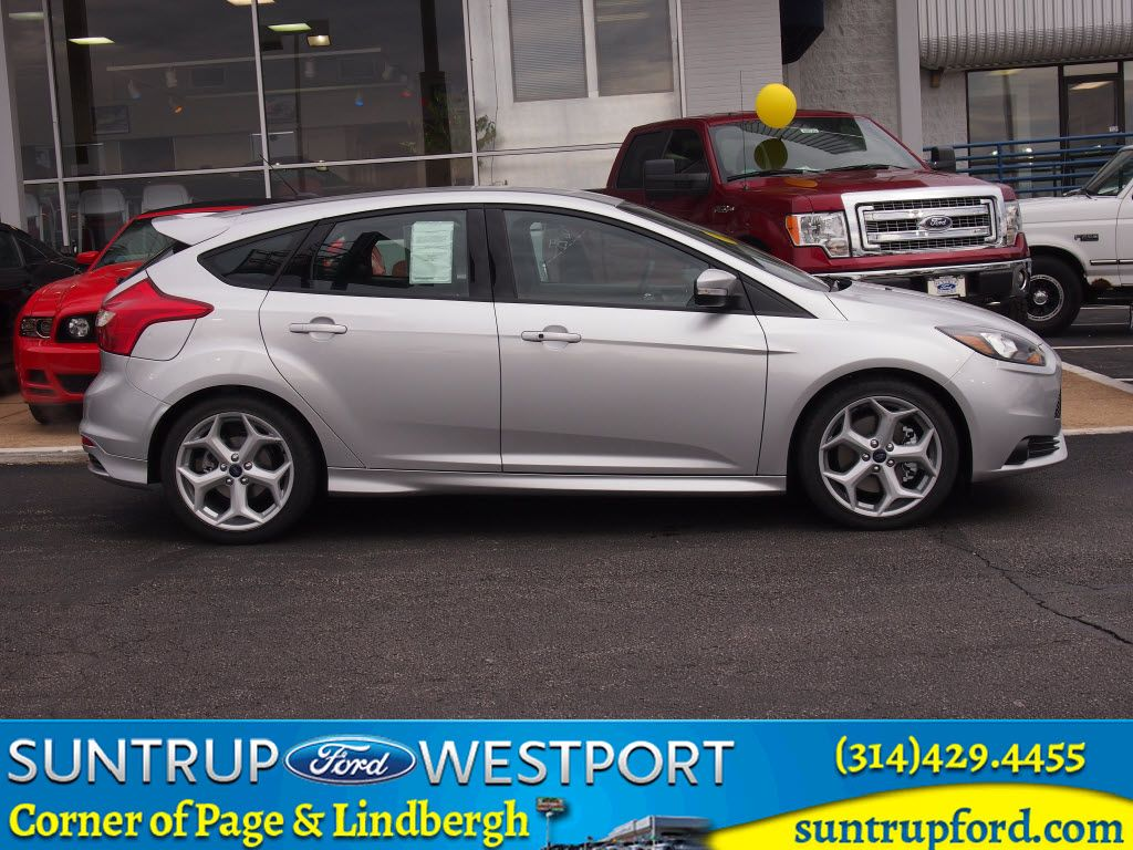 New 2014 ford focus st for sale at suntrup ford westport in saint louis missouri